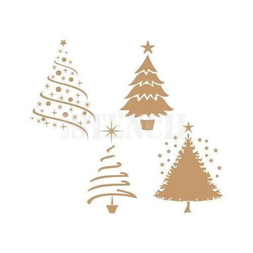 Christmas Tree Stencils: 58 Best Stencil Xxx & Pattern Images On Pinterest