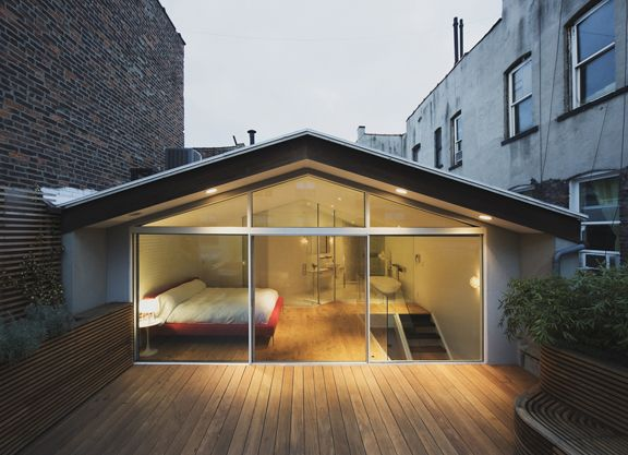 : Dreams Bedrooms, Cool Bedrooms, Decks, Little House, Glasses Wall, Dreams House, Roof Terraces, Architecture, Modern House