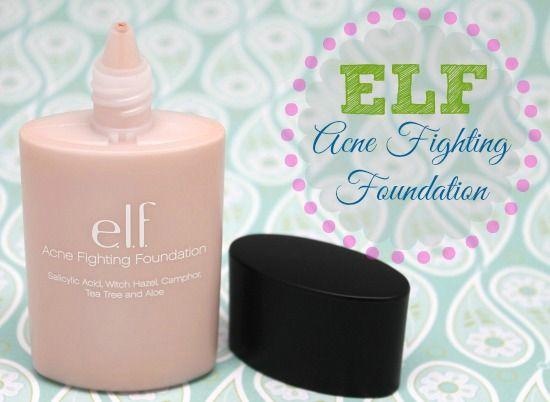 ELF Studio Acne Fighting Foundation Review - myfindsonline.com