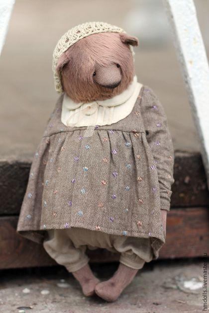 Teddy bear / Мишки Тедди ручной работы. Пышка. Вера Кондратьева (hmdolls). Ярмарка Мастеров. Тедди, вера кондратьева, хлопковая пряжа