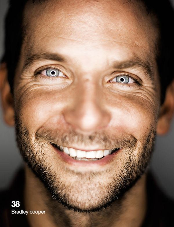 80 portraits pour les 80 ans du magazine «Esquire» - Bradley Cooper