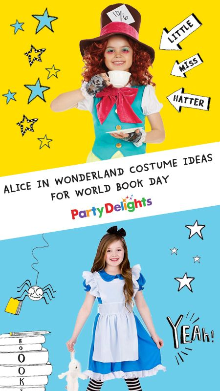 World Book Day 2018 is almost here and if you're looking for book character costume ideas for your child, check out our round-up of Alice in Wonderland costume ideas for World Book Day for inspiration.