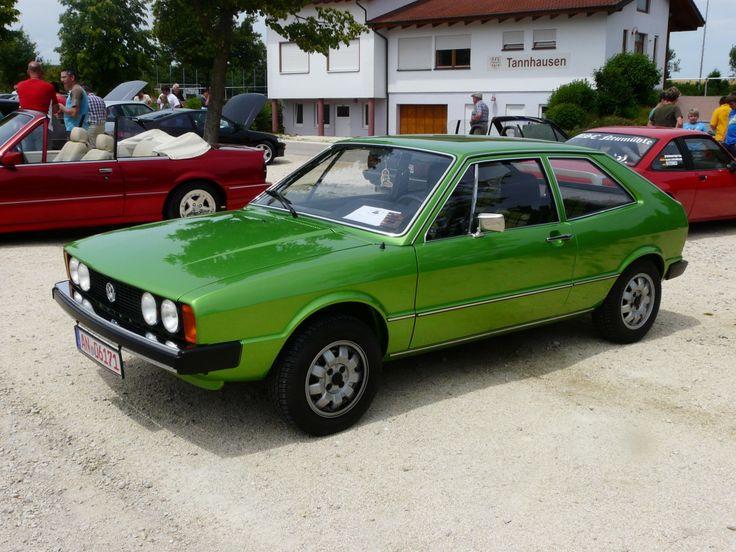 VW Scirocco beim Oldtimertreffen 2012 in Tannhausen