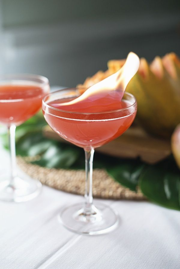 Olympic Torch signature cocktail idea