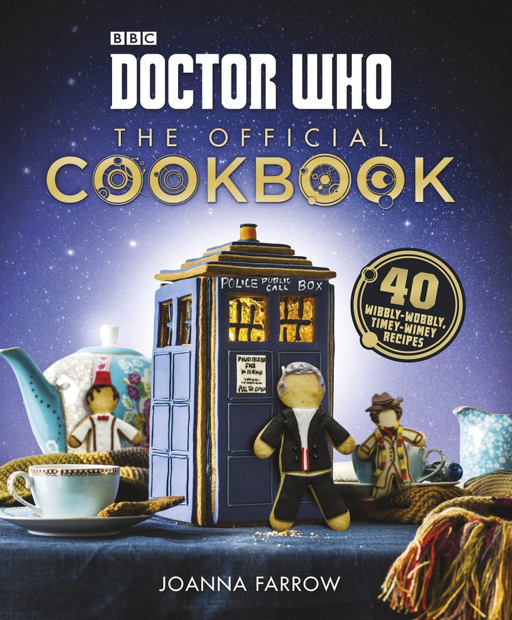 ZYGON PIES AND DALEK CUPCAKES - IT'S THE DOCTOR WHO COOK BOOK!