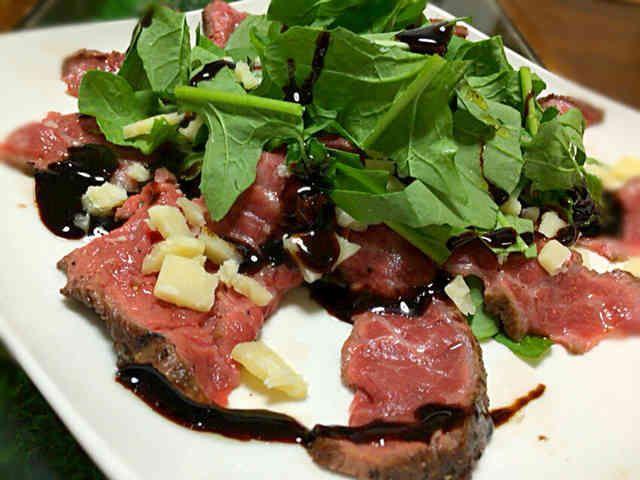 パーティのメインに☆牛肉のタリアータの画像