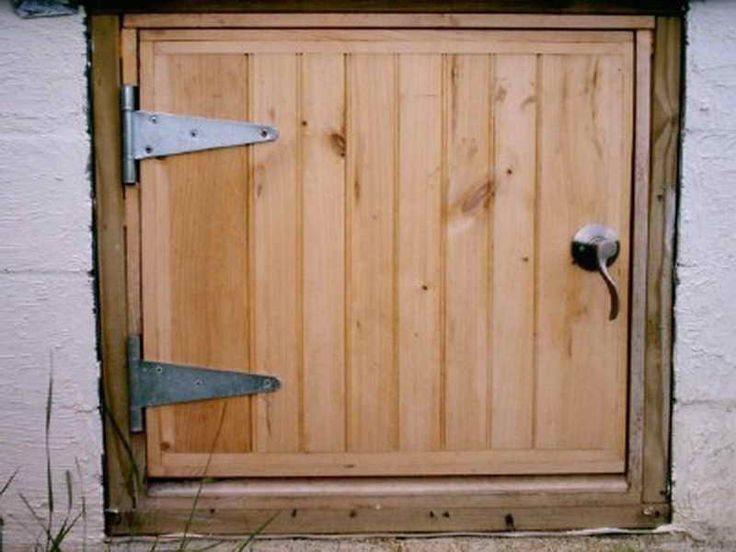 crawl space door ideas