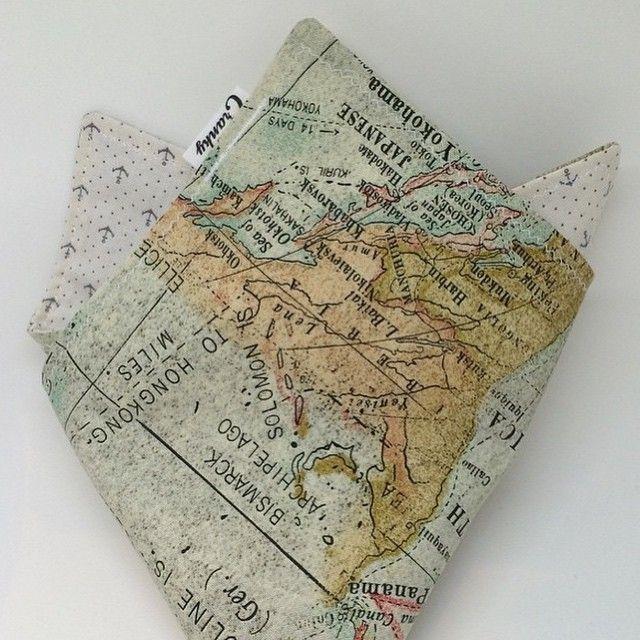 Map Hanky