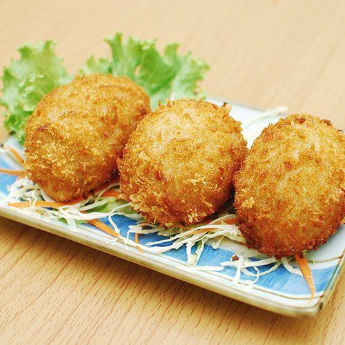 Ton Balıklı Patates Kroket
