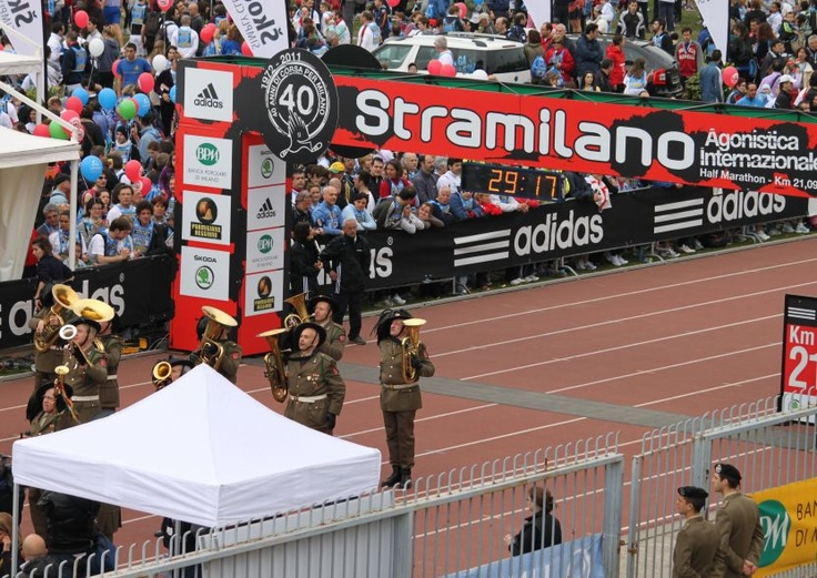 The event comprises three parts: the Stramilano International Half Marathon (a professional road running competition over 21.0975 km), the La Stramilano dei 50.000 and the Stramilanina – a 5 km event for younger people.