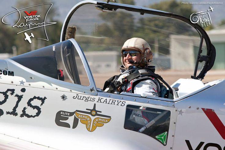 Jurgis Kairys #JurgisKairys #VostokEurope #VichosWatches #aviation #pilot #aviator #AthensFlyingWeek