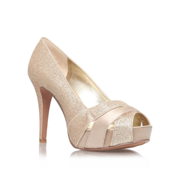 chrissy3, gold shoe by nine west - women shoes party shoes & occasion