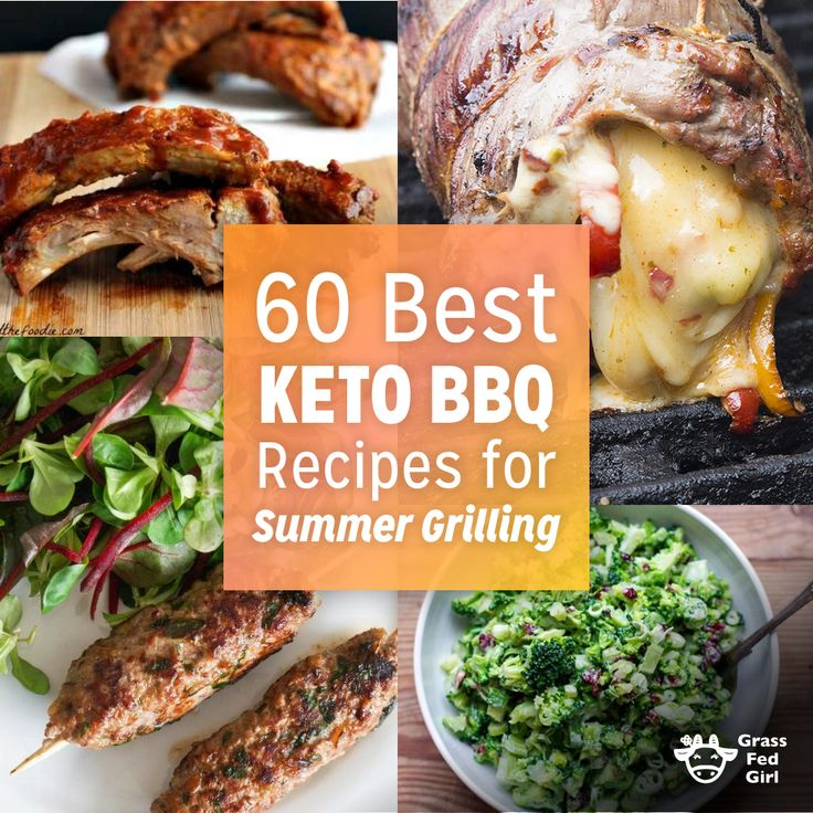 Looking for low acrb and keto BBQ recipes? From salads to sauces, grilled meat, poultry and seafood, there is something for every taste!