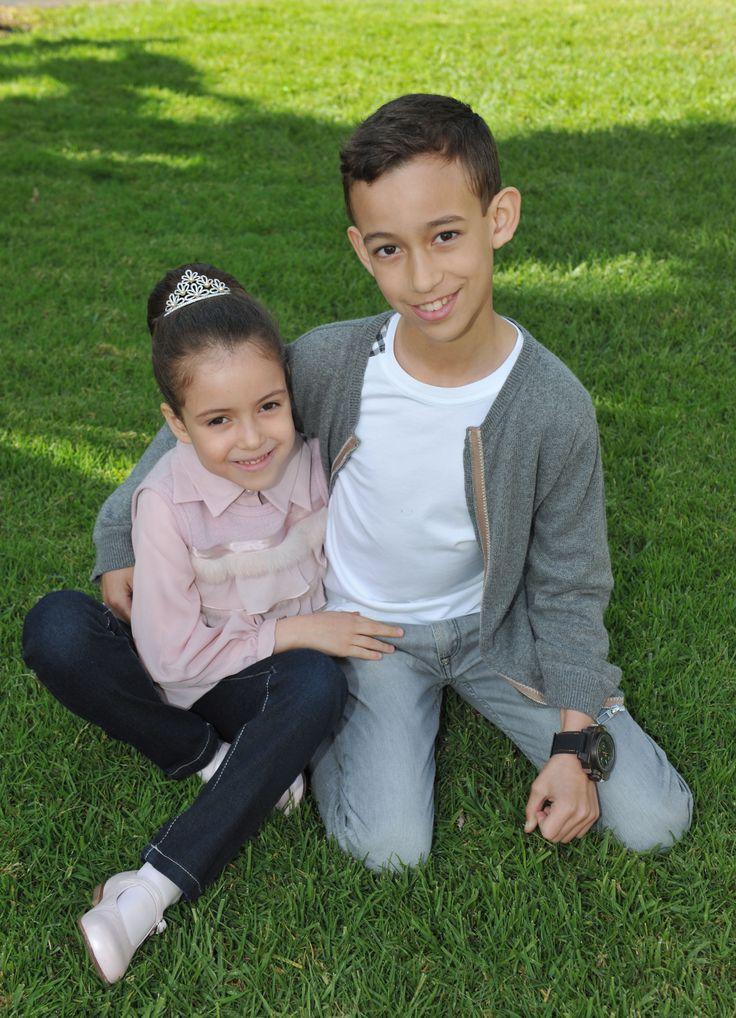 Princess Lalla Khadija and Crown Prince Moulay Hassan