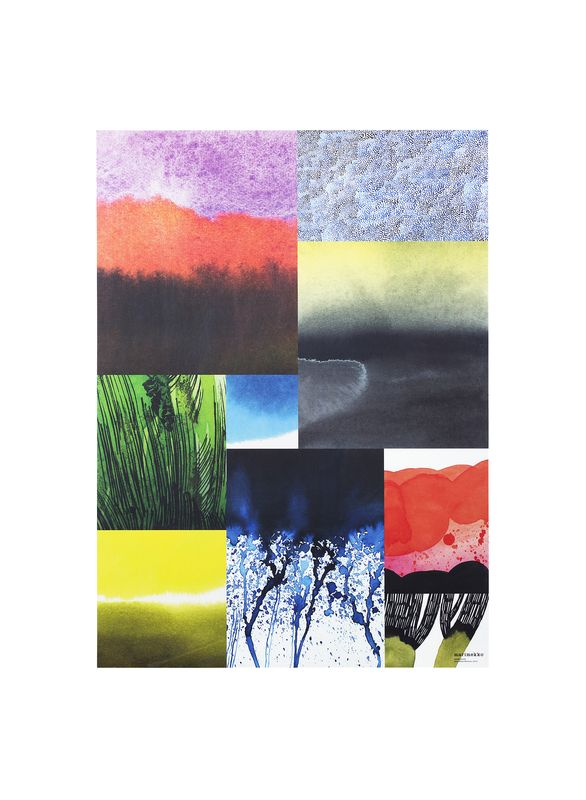 Marimekko´s Weather Diary Collection: Haapasaari poster