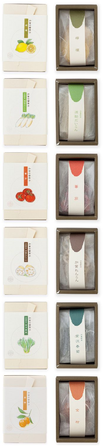 Mitsugashi NAKAGAWA - simple, suttle packaging design. ... for dry foods?