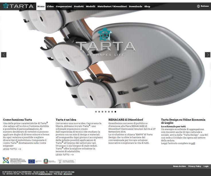 Il #sitointernet di #Tartadesign , un brevetto internazionale per lo #schienale #ergonomico più innovativo del mercato. Tante applicazioni, dal #interiordesign al mondo degli #accessori per #disabili. www.tartadesign.it