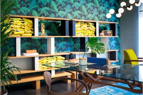 Moketino Blog - Interior Design Trends 2017: Επιστροφή στη φύση // Ένα από τα φετινά trends στη διακόσμηση προκύπτει από τη σχέση μας με την εργασία.  Αφενός, η επίπλωση του σπιτιού προσαρμόζεται όλο και περισσότερο στις απαιτήσεις ενός χώρου εργασίας.  Αφετέρου, είναι έντονη η ανάγκη μας για ήρεμη και γαλήνια ατμόσφαιρα στο σπίτι, όπου επιστρέφουμε ύστερα από μια πιεστική μέρα.