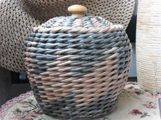 Мини МК по плетению верёвочки из четырёх или пяти трубочек