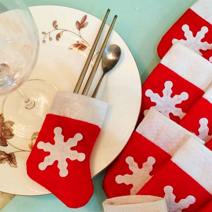 12 Pcs/Set Christma Toys ornaments Decoration Santa Tableware Bags Dining Table Knife Forks christmas decorations for home #>=#>=#>=#>=#> Click on the pin to check out discount price, color, size, shipping, etc. Save and like it!