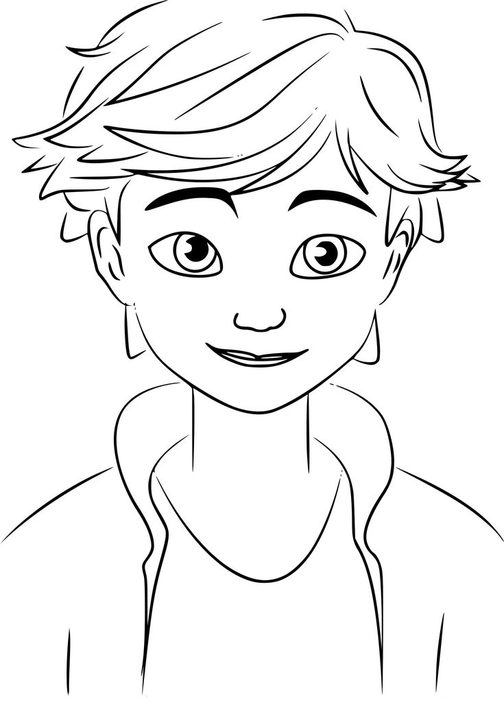 MLB Adrian   Ladybug coloring page, Cartoon coloring pages ...