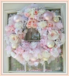 Shabby and Chic Christmas Wreath