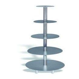 Expositor de tartas redondo de aluminio. Tres modelos diferentes a elegir. http://www.ilvo.es/es/product/expositor-de-tartas-de-aluminio