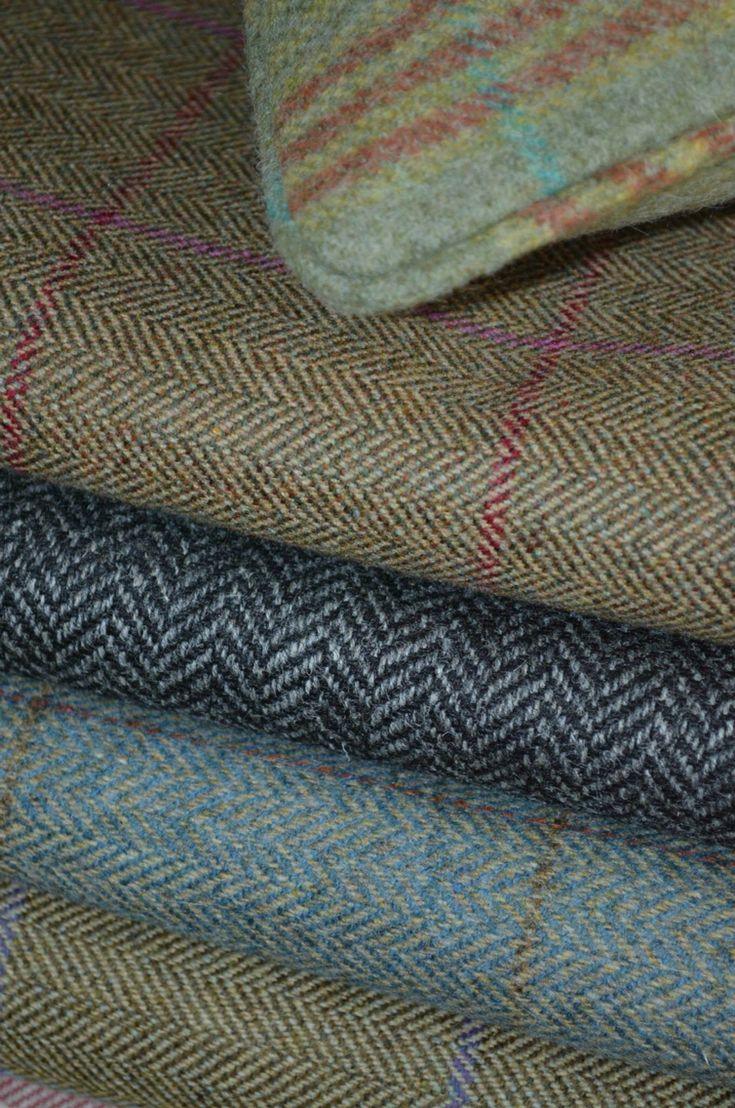 Scottish tweed. I know not technically a plaid but still.