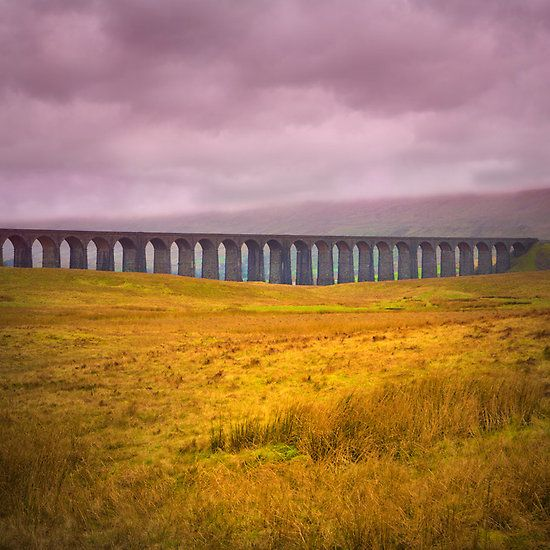 Ribblehead Viaduct - Love to go here sometime... It does not look like this phot0 though... LIES!