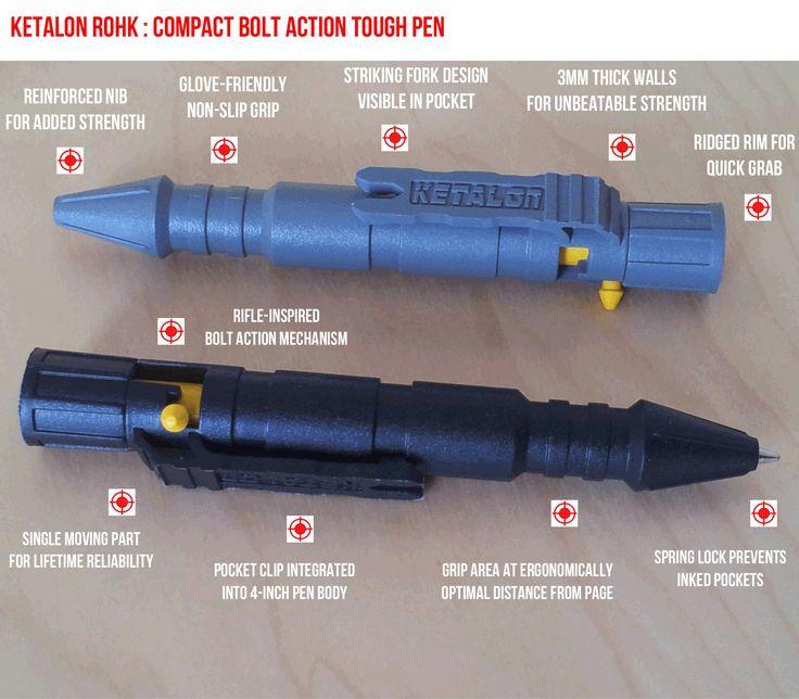 Coming soon!  Rohk Bolt Action Pen. Overengineered. Unbreakable. Reliable. Badass. Compact. Lightweight. Pocket-friendly.  For launch news : http://bit.ly/2bEyRxS  #everydaycarry #edc #edcgear #coolgear #pocketdump #daily #pockettool #geardump #edcdump #knife #tacticalpen #pen #keyorganizer #minimalist #knife #pocketgear #tactical