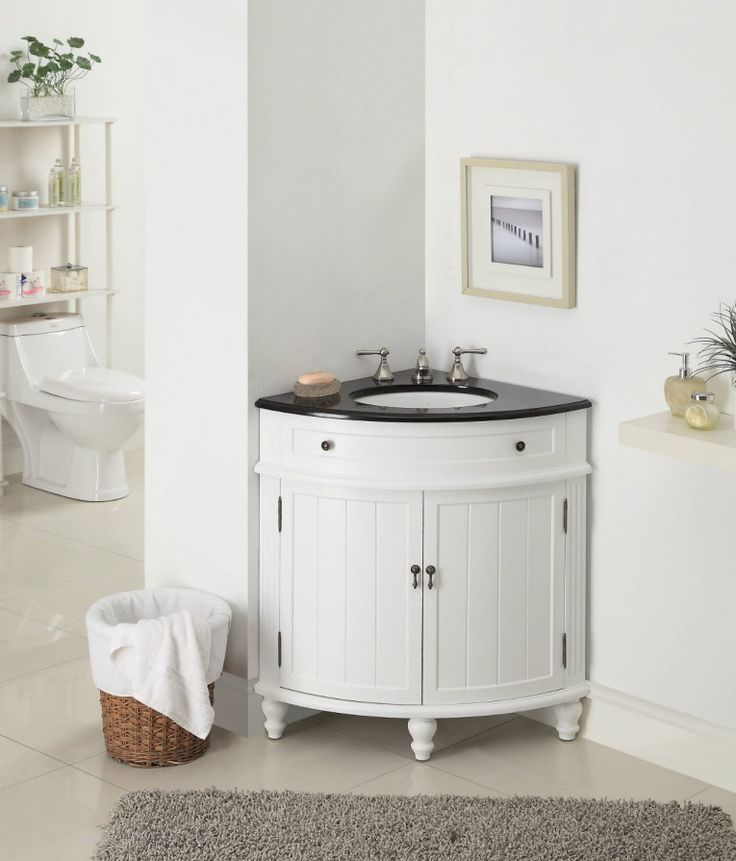 small sink vanity for small bathrooms%0A    Astounding Small Corner Bathroom Vanities Picture Ideas