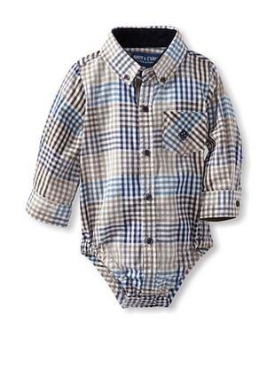 61% OFF Andy & Evan Baby Check Please Shirtzie (Medium Beige/Black)