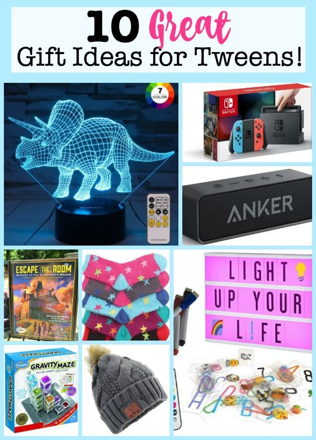 9a302c065db Here are my top 10 picks for great gift ideas for tweens in 2018! Because