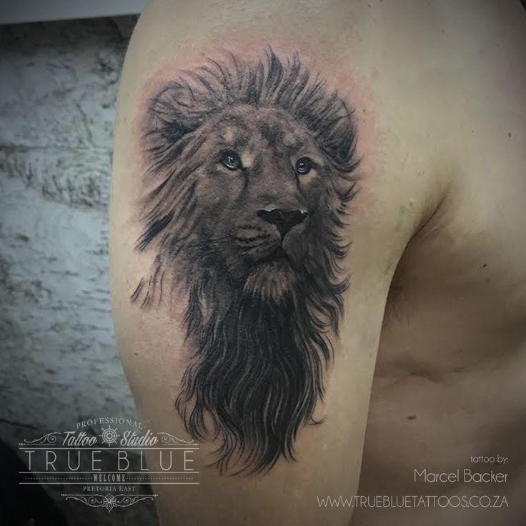 """Lionhearted""by Marcel Backer of True Blue Professional Tattoo Studio"