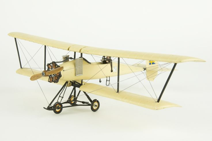 Model aeroplane Breguet   Flygvapenmuseum   CC BY