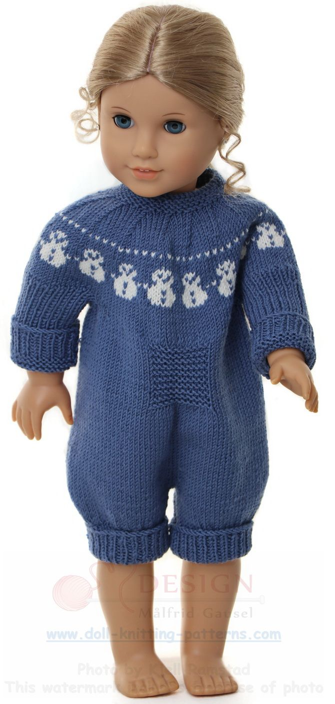 Strikke dukkeklær baby born