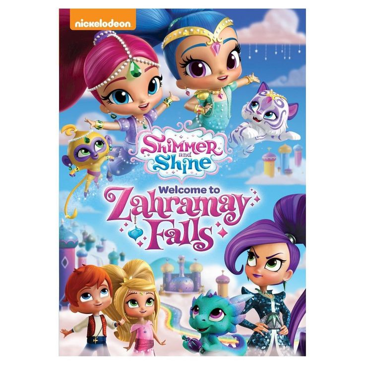 Shimmer And Shine: Welcome To Zahramay Falls (Dvd)