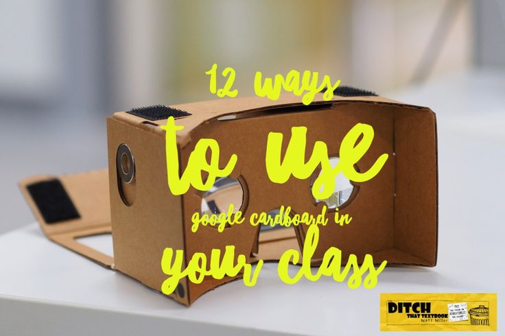 Google Cardboard delivers vivid real and imaginary experiences in full 3D. See how you can get AND implement Google Cardboard in your classroom.