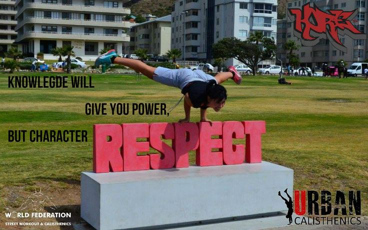 Respect is earned. Keep working. Tag and share to spread the motivation. #fitness #outdoors #capetown #urbanmotivation #urbancal #wswcf #kore #streetworkout #calsithenics