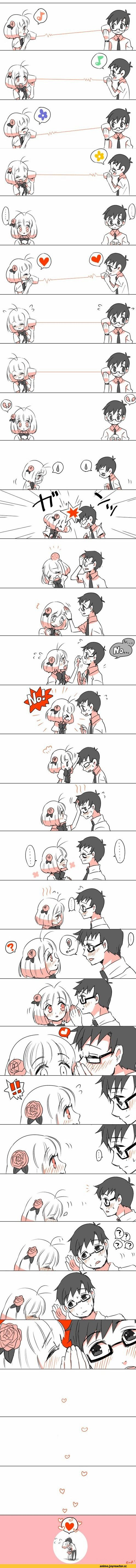 Ao no Exorcist   yukio and shiemi   I prefer Rin but this is still super cute