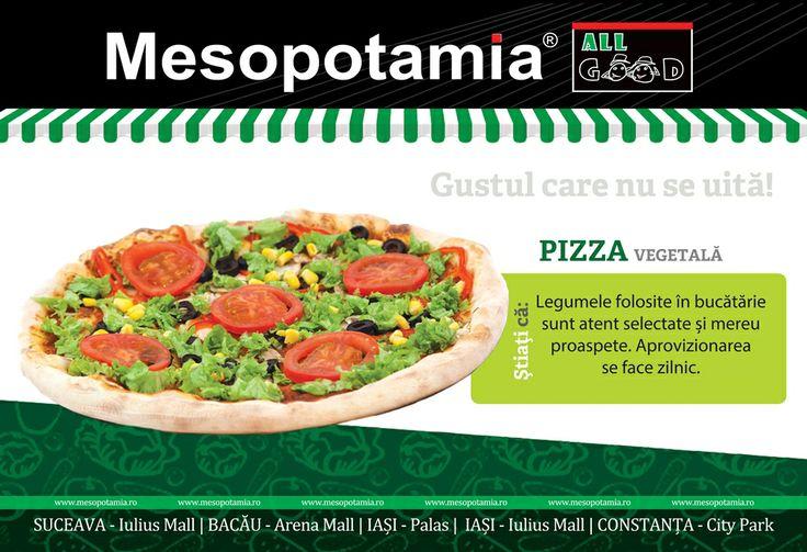 Pizza Vegetala.