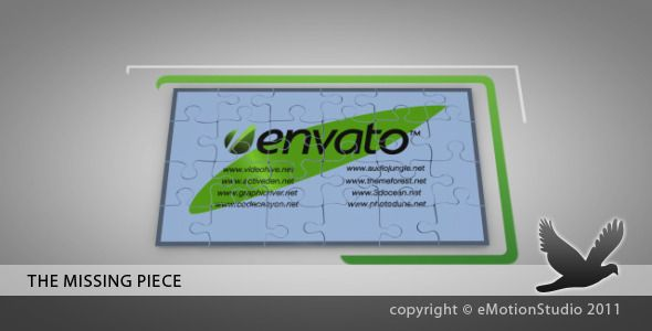 After Effects Project Files - The Missing Piece | VideoHive