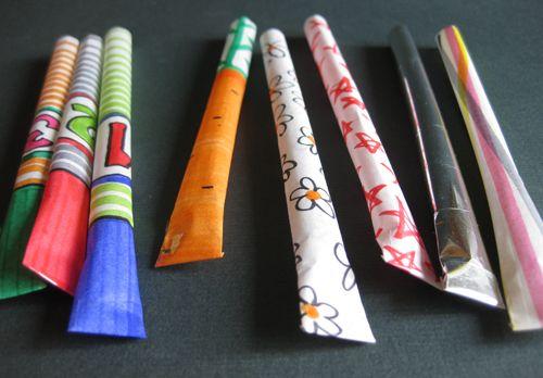 curious kangaroos: Paper Rocket
