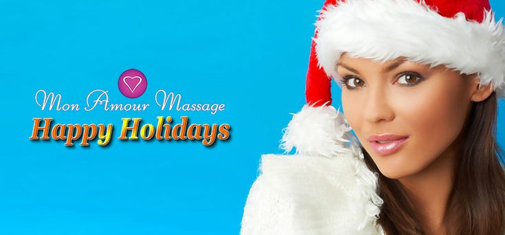 The Mon Amour #eroticmassage parlor wishes you #HappyHolidays and a #HappyNewYear!