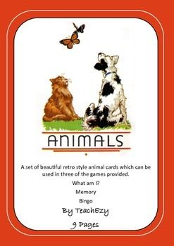 Retro Animal Games