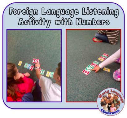 Foreign (World) Language Listening Activity with Numbers (French, Spanish) http://wlteacher.wordpress.com
