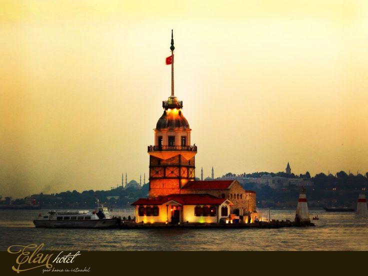 Kız Kulesi'nin dünyada en fazla fotoğrafı çekilen beşinci turistik merkez olduğunu biliyor muydunuz? #elanhotelistanbul #kızkulesi #istanbul