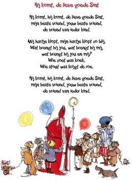 Hij komt, de lieve goede Sint #sinterklaas