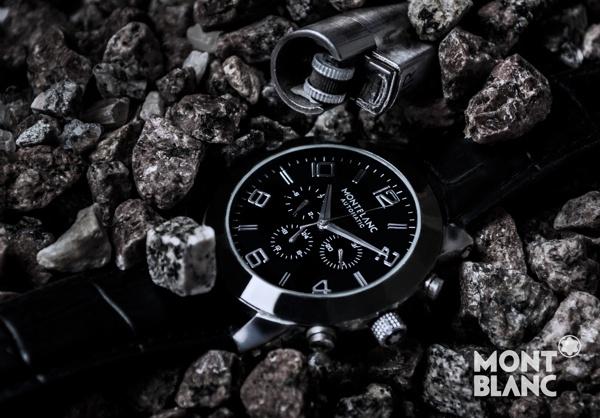 Mont-Blanc Watch Advertisement