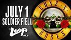 #Ticket  Guns N Roses Ticket Chicago Soldier Field July 1st 2016 Sec B2 Row 4 Seat 19 #deals_us